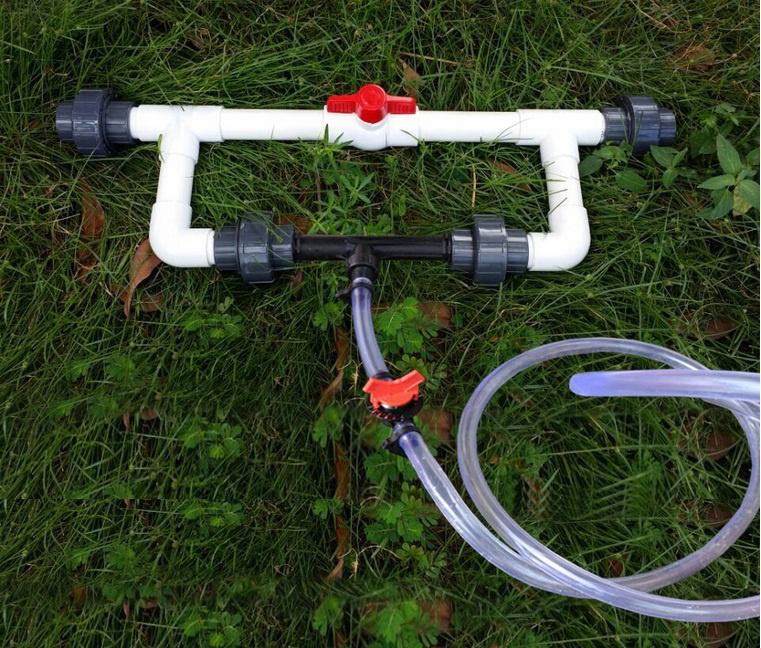 Техника и инструменты для дачи: Инжектор Вентури в системе фертигации