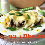 Каннеллони с фаршем под соусом бешамель – простой рецепт приготовления с фото пошагово